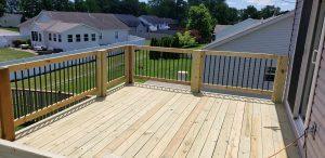 new deck built in cabot arkansas by arkansas deck company excellent decking builders contractor contractors