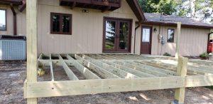 best deck builder cabot arkansas wood deck construction